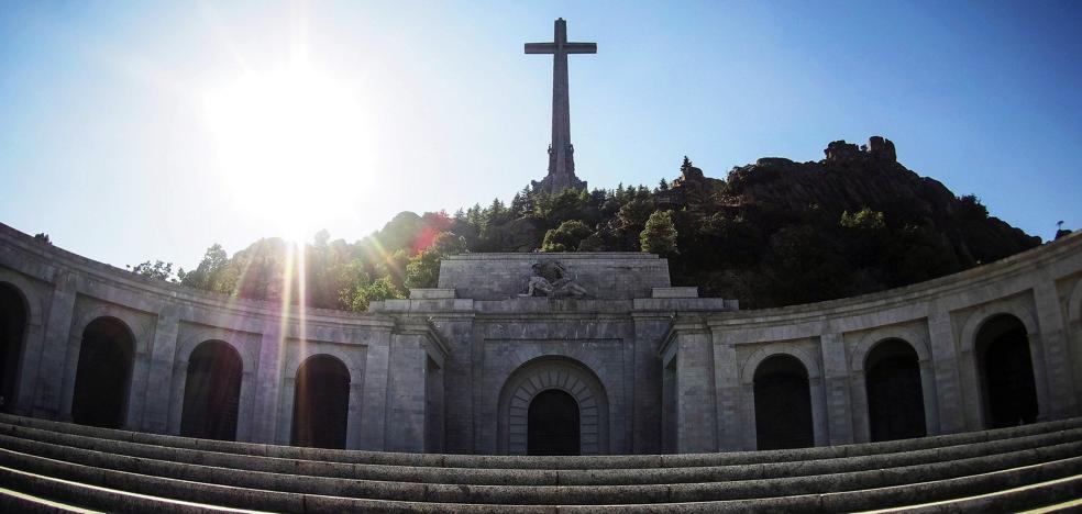 1.231 vascos están enterrados en el Valle de los Caídos