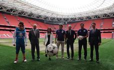 Presentación de la Eurocopa 2020 en San Mamés