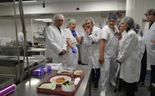 Gastronomía, arte e ingeniería en el corazón del Hospital de Galdakao