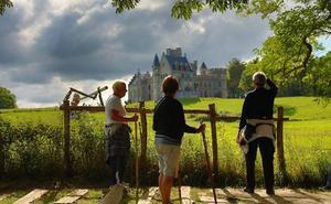 Castillo d'Abbadia, el palacio de un sabio amante del euskera