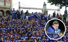 Portugalete rinde homenaje a Mikel Peña, el pequeño de 12 que luchó contra el cáncer