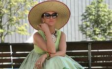 Miren, la bilbaína «maripositiva» de los estilismos alegres y divertidos