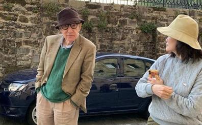 Woody Allen ya trabaja en San Sebastián