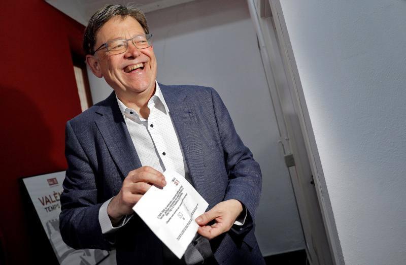Desbloqueado el acuerdo de la izquierda valenciana para investir presidente a Ximo Puig