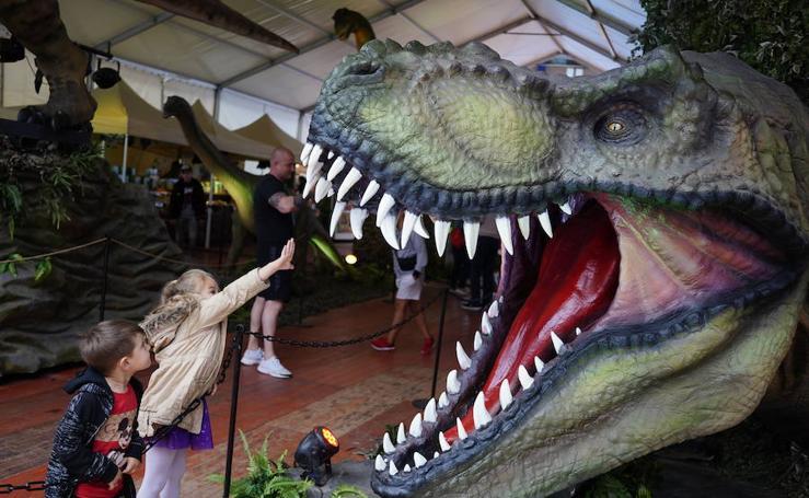 Los dinosaurios viven en Vista Alegre