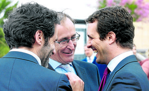 Alonso lima asperezas con Casado y logra su aval para que el PP vasco sea más autónomo