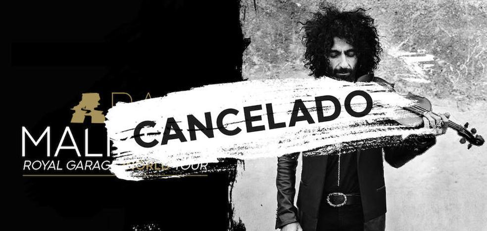 Ara Malikian aplaza su concierto en Vitoria tras ser operado de un hombro