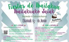 Programa de fiestas de Ibailakua 2019: Ibailakuako Jaiak