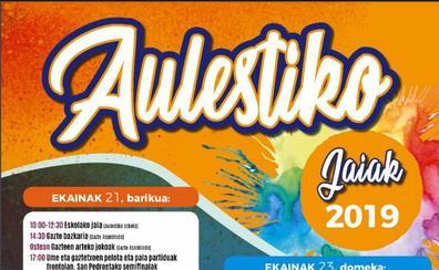 Programa de fiestas de Aulesti 2019: Aulestiko Jaiak