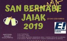 Programa de fiestas de Erandio 2019: San Bernabe Jaiak