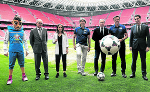 La UEFA busca 900 voluntarios para colaborar en la Eurocopa'2020