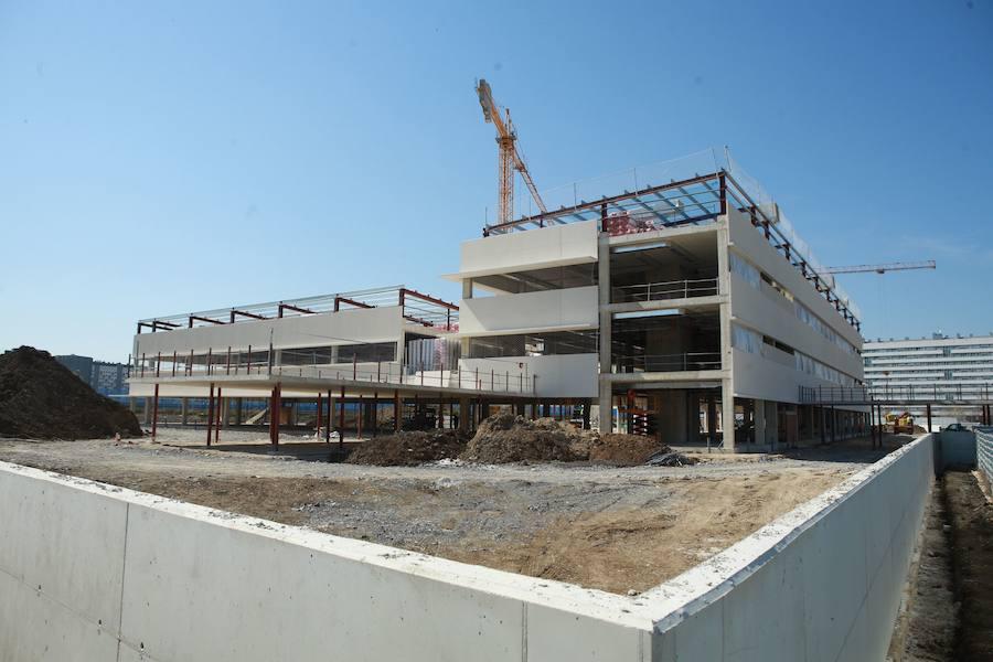 Educación pretende iniciar en la segunda mitad de 2020 el nuevo instituto de Salburua