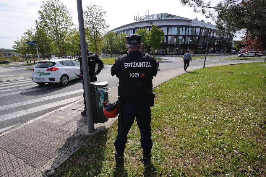 Detenido en Vitoria un joven que asaltó y tiró al suelo a un viandante para robarle