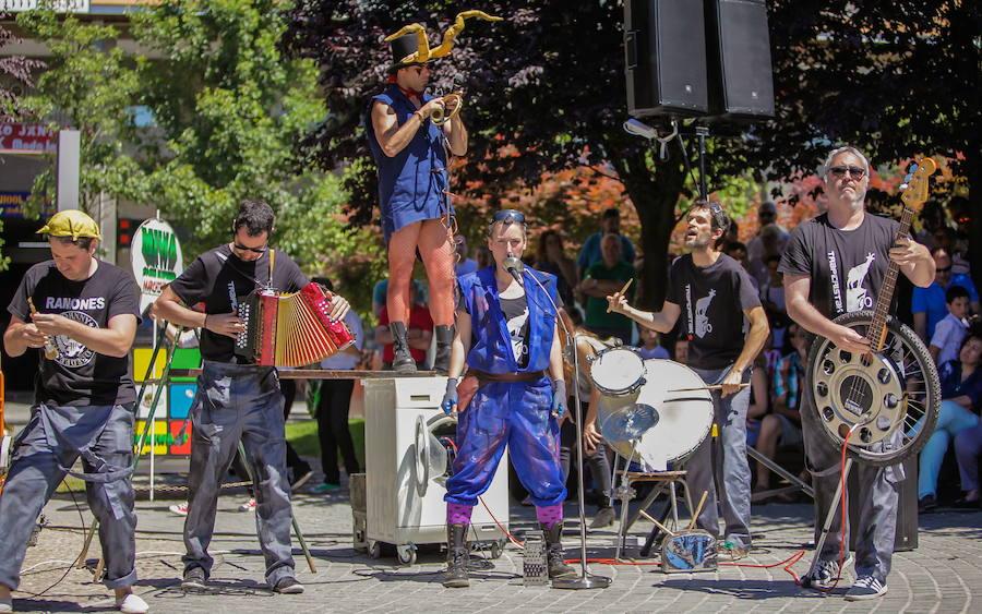 Amorebieta se pondrá en danza al ritmo de las bandas callejeras
