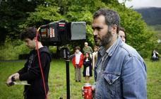 El rodaje del cortometraje 'Tabas' en Markina