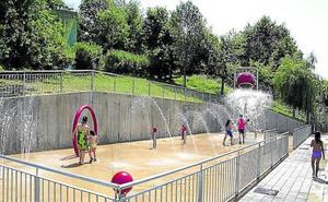 Los chorros de agua de Ongarai abrirán desde hoy hasta el 8 de septiembre
