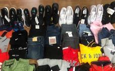 Detenidos dos hermanos alaveses por robar 1.800 euros en ropa en 11 comercios de Logroño