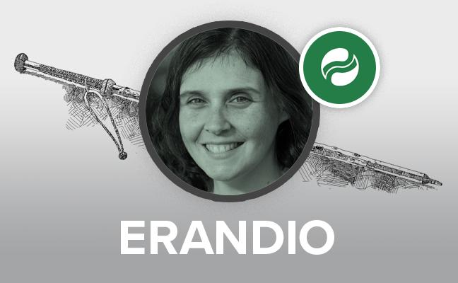 Aitziber Oliban se convierte en la primera alcaldesa de Erandio