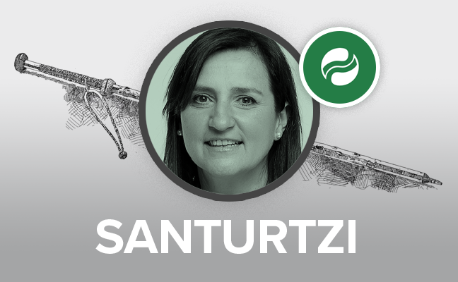 Aintzane Urkijo, reelegida alcaldesa de Santurtzi con los votos en blanco del PSE