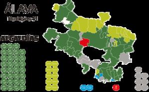 El PNV concentra su mayor poder en Álava al pactar a dos bandas con PSE y EH Bildu