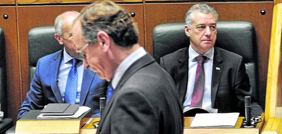 Alonso augura «dificultades» para Urkullu si los jeltzales «ofenden» al PP