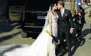 Pilar Rubio y Sergio Ramos se casan en la catedral de Sevilla