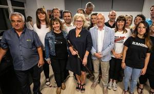 La familia Torra la monta en su pueblo de Girona