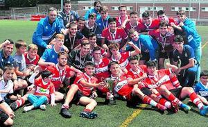 El Danok Bat repite como campeón de la Copa Vasca juvenil
