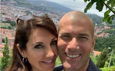 Zidane se sube a Artxanda para disfrutar de las vistas de Bilbao
