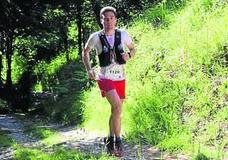 Álvaro Ramos impone su dominio en la ultra trail Montes de Vitoria