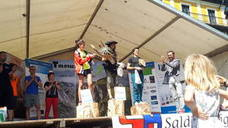 Hassan Ait Chaou y Amaia Amantegi, campeones de Euskal Herria de Trail