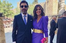 Nuria Roca y el look de invitada de más de 1.500 euros que ha agotado existencias