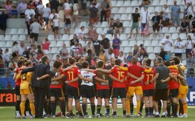 Una a una del España-Estados Unidos