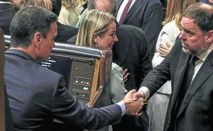 La investidura de Sánchez se complica por el doble discurso de ERC en Madrid y Barcelona