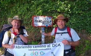 El llodiano Jon Karla Bilbao llegará a Santiago de Compostela el sábado