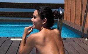 El 'topless' de Cristina Pedroche incendia Instagram