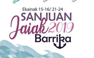 Programa de fiestas de Barrika 2019: San Juan Jaiak