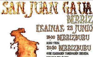 Programa de fiestas de Berriz 2019: San Juan Jaiak