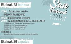 Programa de fiestas de Markina 2019: Barinagako San Pedroak