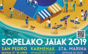 Programa de fiestas de Sopela 2019: San Pedro Jaiak