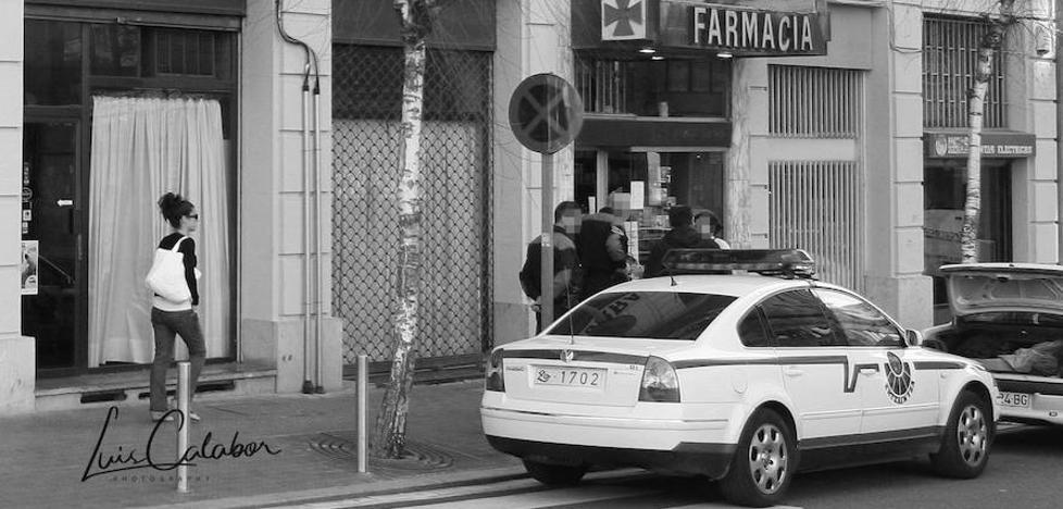Un butrón para robar 21 revólveres en una armería de Bilbao