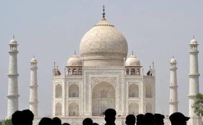 Las horas contadas para el Taj Mahal