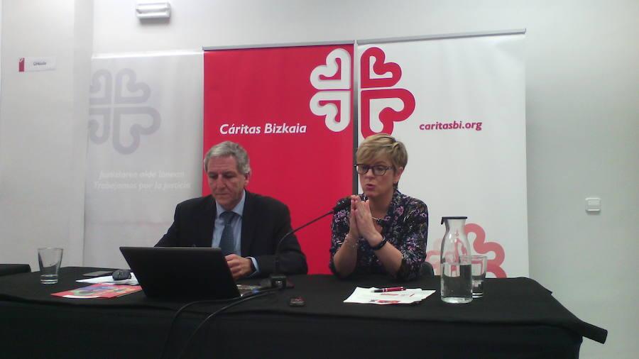 Cáritas apoyó el año pasado a más de 13.000 personas en Bizkaia