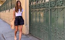 Con estos pantalones cortos de Sara Carbonero puedes ir tranquilamente de la oficina a la playa