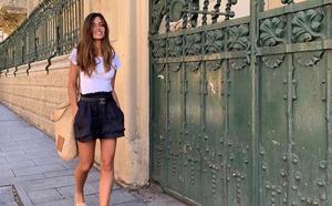 Con estos pantalones cortos de Sara Carbonero puedes ir tranquilamente de la oficina a la piscina