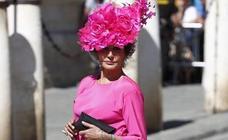 La sombrerera vasca que convirtió a Naty Abascal en un ejemplo de invitada perfecta