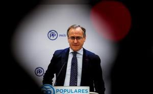 El PP da al PNV dos meses de plazo para que rompa con Bildu en la reforma del Estatuto