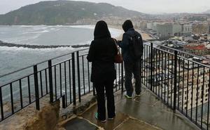 Fallece una mujer al precipitarse desde el monte Urgull en San Sebastián
