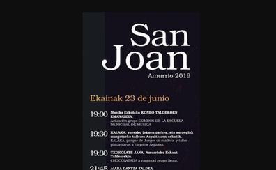 Programa de fiestas de Amurrio 2019: San Joan Jaiak