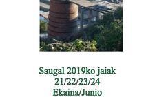 Programa de fiestas de Ortuella 2019: Saugal Jaiak